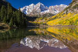 Maroon Bells Outside of Aspen, Colorado Photographic Print by Jason J. Hatfield