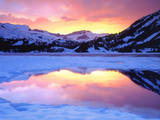 USA, California, Ellery Lake at Sunset Photographic Print by  Jaynes Gallery
