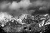 A Winter Storm Clears over the Northern Cascades Near Mount Baker Ski Area, Washington Photographic Print by Jay Goodrich