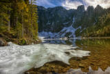Lake Twentytwo and Mount Pilchuk in North Cascades, Washington Photographic Print by Arnab Banerjee