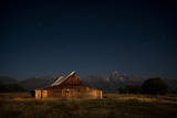 An Old Barn on Mormon Row, Antelope Flats, Grand Teton National Park, Wyoming Photographic Print by Jason J. Hatfield
