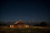 An Old Barn on Mormon Row, Antelope Flats, Grand Teton National Park, Wyoming Photographic Print by Jason J. Hatfield