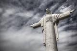 Cristo De La Concordia, the Largest Statue of Jesus in the World Is in Cochabamba, Bolivia Reprodukcja zdjęcia autor Patrick Brandenburg