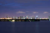 Miami , Florida: Downtown Miami at Night Photographic Print by Brad Beck
