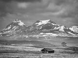 Old House Along the Rocky Mountain Front, Montana Photographic Print by Steven Gnam
