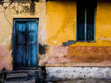 A Doorway in the City of Mysore, India Photographic Print by Dan Holz