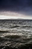 A Choppy Great Salt Lake During a Storm Photographic Print by Lindsay Daniels