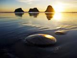 Sunset at Ecola State Park, Oregon Photographic Print by Maureen Eversgerd