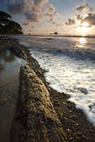 Sunset on the Beach in Playa Dominicalito, Costa Rica Photographic Print by Adam Barker