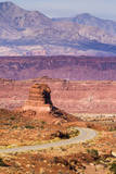 Highway 95 Travels Through Southern Utah and Glen Canyon National Recreation Area Photographic Print by Mike Cavaroc