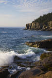 Rocky Coast and Otter Cliffs, Acadia National Park, Mount Desert Island, Maine Photographic Print by Sue Anne Hodges