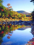 USA, New Hampshire, a Waterfall in the White Mountains Photographic Print by  Jaynes Gallery