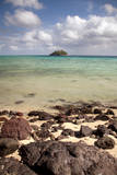 Paddy's Island from Devil's Beach, Turtle Island, Fiji Photographic Print by Roddy Scheer