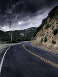 Malibu Creek, Mulholland Highway, California Photographic Print by Matt Dames