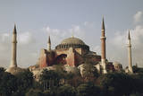 Turkey, Istanbul, View of Hagia Sophia (Aya Sofya) Photographic Print by Ali Kabas