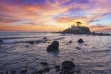 The Sun Sets Behind the Battery Point Lighthouse in Crescent City, California Photographic Print by Ben Coffman