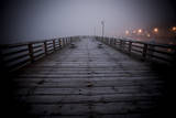 The Pier Near Seattle's Water Taxi Zone on the Puget Sound, West Seattle, Washington Photographic Print by Dan Holz