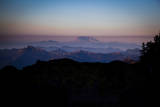 Sunset with Mount Saint Helens on the Horizon, Mount Rainier National Park, Washington Photographic Print by Dan Holz