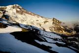 Clouds in Front of Mount Rainier's South Face - Mt Rainier National Park, Washington Photographic Print by Dan Holz