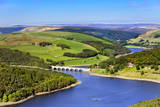 View of the Labydower Reservoir in the Peak District of England Photographic Print by Francesco Carovillano