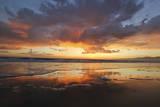 Sunset in Venice Beach, California Photographic Print by Kristi Knupp