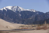 Medano Creek Flowing Along the Edge of the Dune Field at Great Sand Dunes National Park, Colorado Photographic Print by Neil Losin