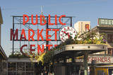 USA, Washington, Seattle. Pike Place Market Built in 1907 Photographic Print by Trish Drury
