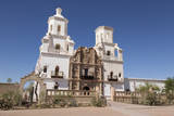 Arizona, San Xavier Indian Reservation. San Xavier Del Bac Mission Photographic Print by  Jaynes Gallery