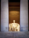 The Lincoln Memorial, Washington Dc, USA Photographic Print by Brian Jannsen