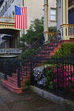 USA, Georgia, Savannah, House in the Historic District Photographic Print by Joanne Wells