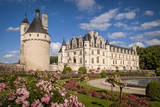 Gardens of Chateau Chenonceau, Indre-Et-Loire, France Photographic Print by Brian Jannsen