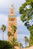 Minaret of the Koutoubia Mosque, Marrakech, Morocco Photographic Print by Nico Tondini