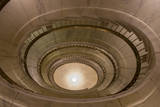 USA, Washington Dc. Supreme Court Building, Spiral Staircases Photographic Print by Charles Crust