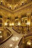 Interior of Palais Garnier, the Opera House, in Paris, France Photographic Print by Brian Jannsen