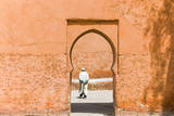 Gate of the City Ramparts, Marrakech, Morocco Photographic Print by Nico Tondini