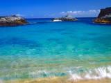 USA, Hawaii, Kauai. a Wave Breaks on a Beach Photographic Print by  Jaynes Gallery