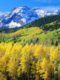 USA, Colorado, Rocky Mountains, Autumn in the Rockies Photographic Print by  Jaynes Gallery