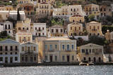 Greece, Symi, View of House at Symi Islands Photographic Print by Ali Kabas