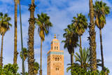 Minaret of the Koutoubia Mosque, Marrakesh, Morocco Photographic Print by Nico Tondini