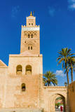Koutoubia Mosque and Minaret, Marrakech, Morocco Photographic Print by Nico Tondini