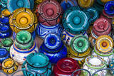 Ash Trays for Sale in the Souk, Medina, Marrakech, Morocco Photographic Print by Nico Tondini