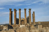 Jordan, Jerash, Temple of Artemis Photographic Print by Claudia Adams