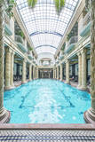Hungary, Budapest, Gellert Baths Indoor Pool Photographic Print by Rob Tilley