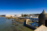 View of the Ramparts of the Old City, Essaouira, Morocco Photographic Print by Nico Tondini