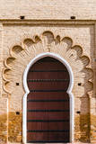 Main Gate to of the Koutoubia Mosque, Marrakech, Morocco Photographic Print by Nico Tondini
