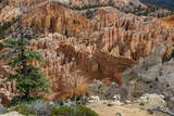 USA, Utah, Bryce Canyon National Park. View from Rainbow Point Photographic Print by Charles Crust