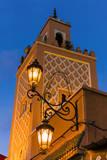 Mosque Place Jemaa El Fna (Djemaa El Fna), Marrakesh, Morocco Photographic Print by Nico Tondini