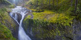 Usa. Oregon. Twister Falls on Eagle Creek in the Columbia Gorge Photographic Print by Gary Luhm