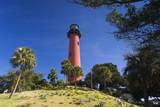 USA, Florida, Jupiter, Jupiter Inlet Lighthouse Photographic Print by Walter Bibikow