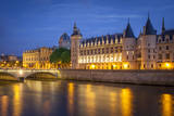 The Concierge Along River Seine, Paris, France Photographic Print by Brian Jannsen